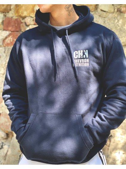 Pánská mikina s výšivkou loga CHN