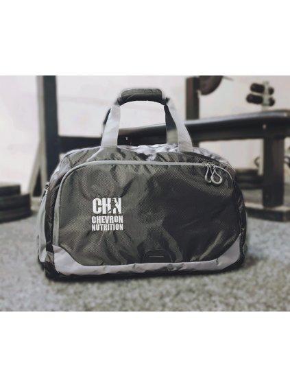 Sportovní taška s výšivkou loga CHN