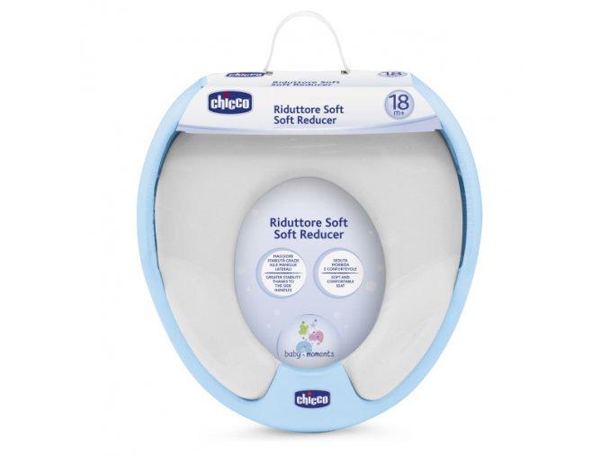 Adaptér soft na WC - modrý