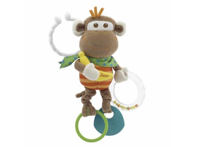 Kousátko plyš opička