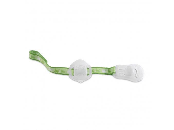 Řetízek na šidítko s krytem - fluoreskující