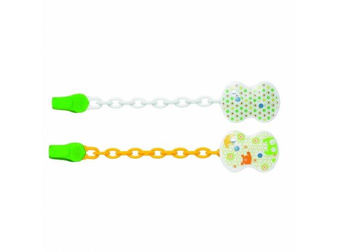 Řetízek plast - zelený
