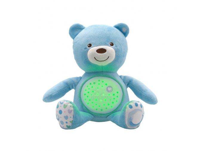 Medvídek s projektorem - modrý