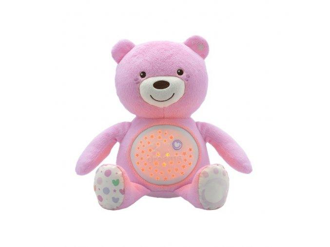Medvídek s projektorem - růžový