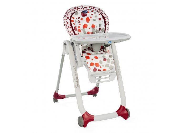 Jídelní židlička Polly Progres5 - Cherry