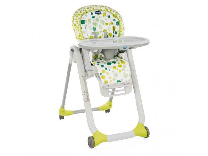 Jídelní židlička Polly Progres5 - Kiwi