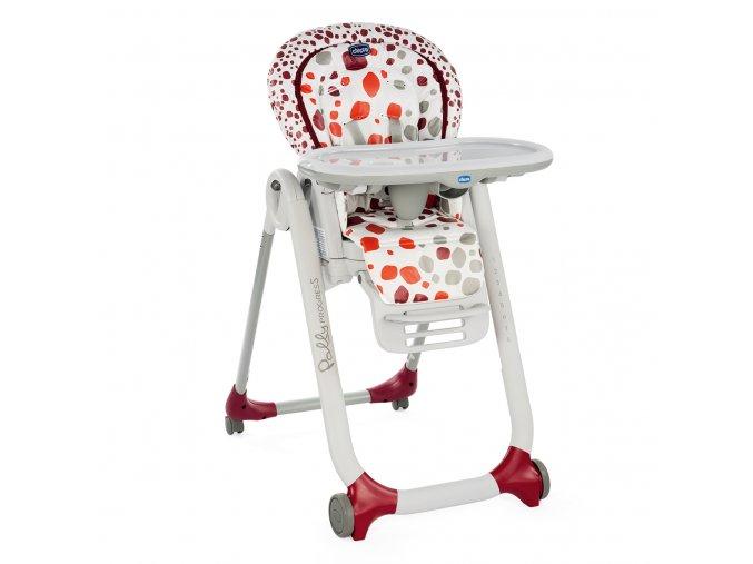 Náhradní potah na židli Polly Progres5 - Cherry