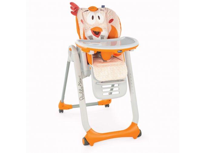Jídelní židlička Polly 2 Start - Fancy Chicken