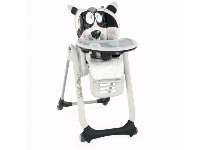 Jídelní židlička Polly 2 Start - Honey Bear