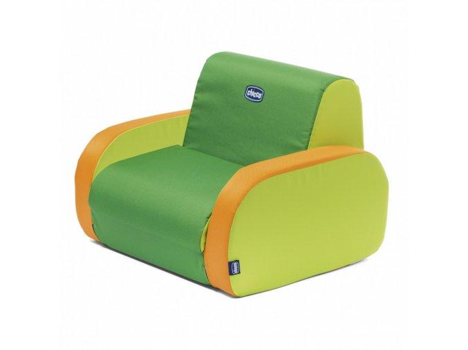 Křesílko Twist - Summer Green
