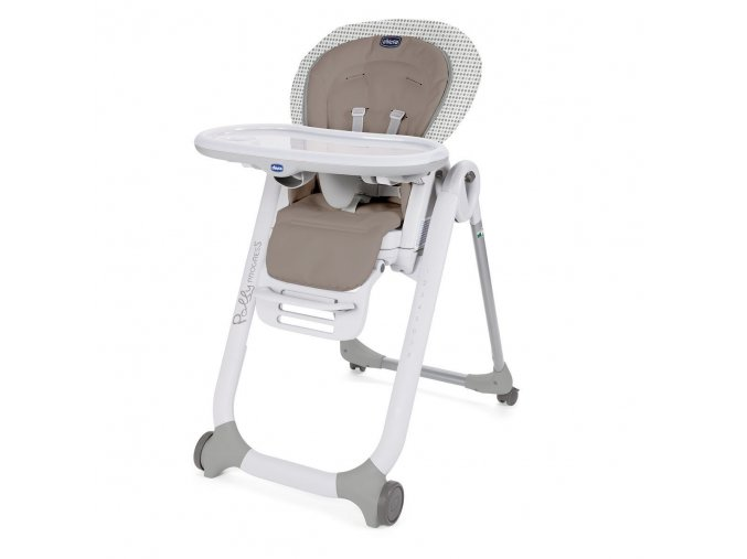 Jídelní židlička Polly Progres5 - Pois