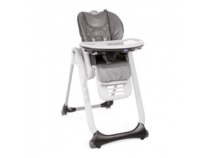 Jídelní židlička Polly 2 Start - Anthracite