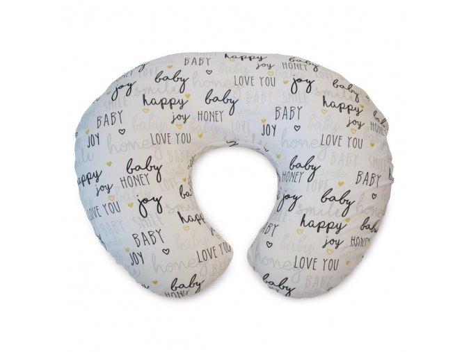 Polštář na kojení Boppy - Hello Baby