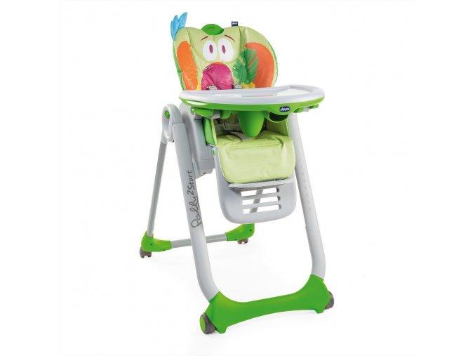 Jídelní židlička Polly 2 Start - Parrot