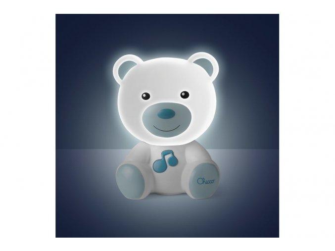 Noční světlo Medvídek - modré