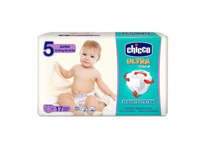 Jednorázové pleny Chicco Ultra Junior 17ks