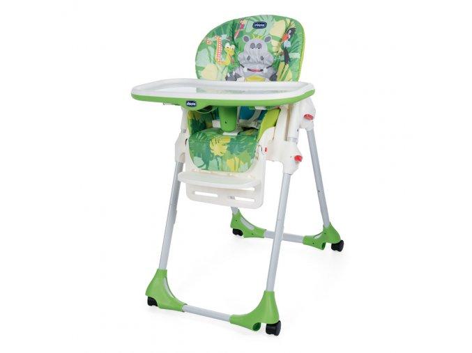 Náhradní potah na židli Polly Easy / Polly 2v1 - Happy Jungle