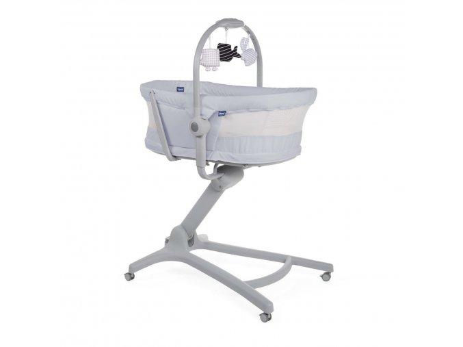 Postýlka/lehátko/židlička Chicco Baby Hug 4v1 Air - Stone