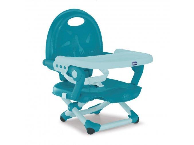 Podsedák na jídelní židli Chicco přenosný Pocket Snack - Hydra