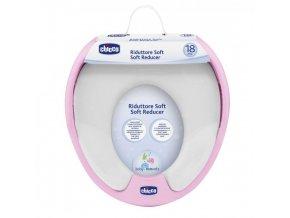 Adaptér soft na WC - růžový