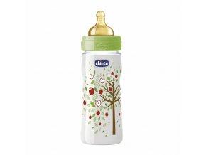 Láhev Well-Being bez BPA kaučukový dudlík rychlý průtok 330 ml