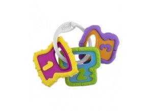 Chrastítko barevné klíče