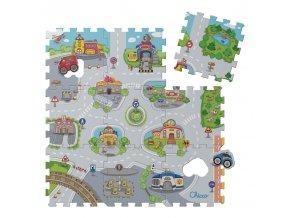 Puzzle koberec Město, 9 dílů