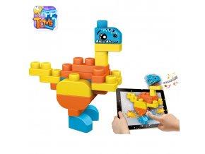 """Stavebnice """"App Toys"""" 30ks - Dinosauři"""