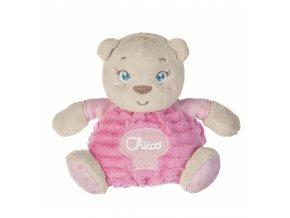 Plyšový medvídek v dárkové krabičce - růžový