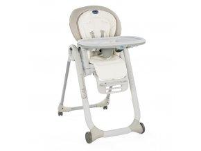 Jídelní židlička Polly Progres5 - White Snow Special Edition