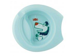 Talíř Easy Feeding, 6m+ -  modrý