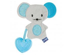 Kousátko dečka myška 3v1- kluk