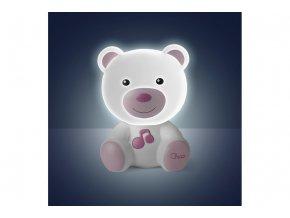 Noční světlo Medvídek - růžové