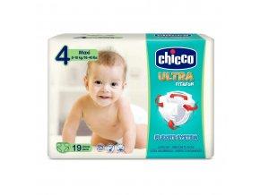 Jednorázové pleny Chicco Ultra Maxi 8-18kg 19ks