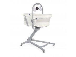 Postýlka/lehátko/židlička Chicco Baby Hug 4v1 Air - White Snow