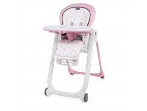 Židlička jídelní Polly Progres5 - Pink