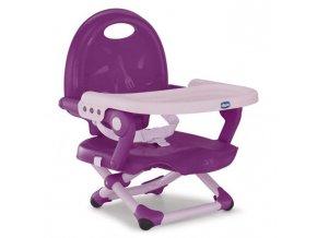 Podsedák na jídelní židli Chicco přenosný Pocket Snack -Violeta