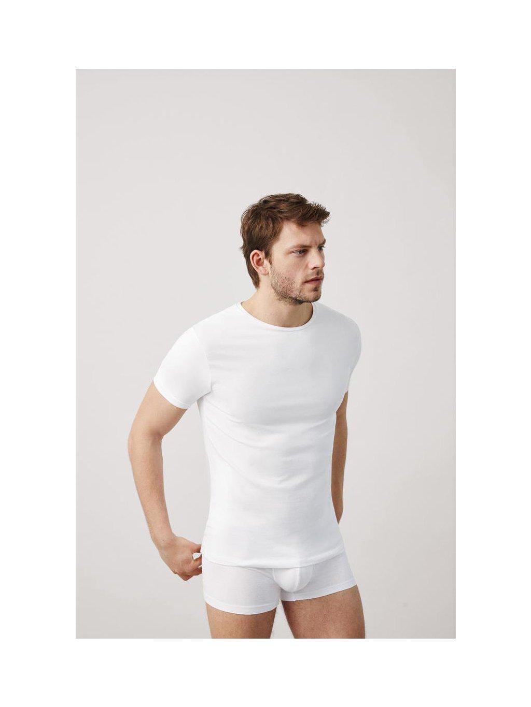 Pánské bílé triko Ysabel Mora
