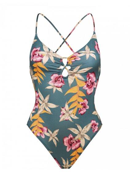 celkové plavky květované Hyper Vintage chickie.cz