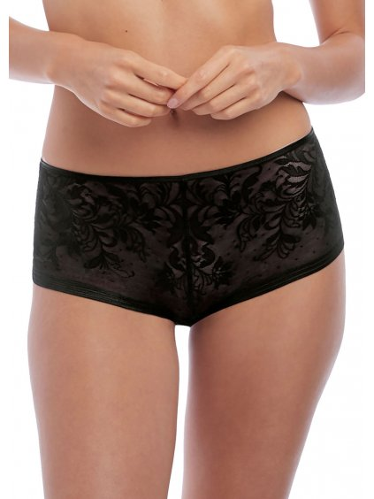 WA845340 BLK primary Wacoal Net Effects Black Boyshort 1