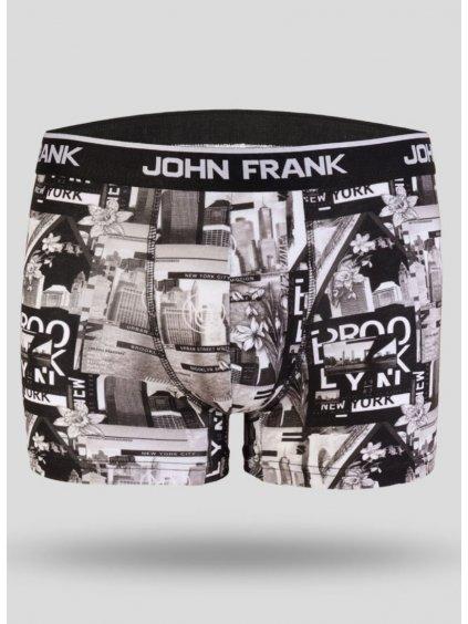 Pánské bavlněné boxerky John Frank Chickie.cz JFBD229