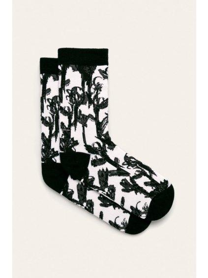 Moderní bavlněné ponožky černo-bílé John Frank Chickie.cz