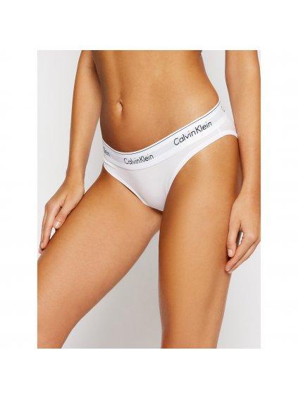 calvin klein underwear klasicke kalhotky 000f3787e bila