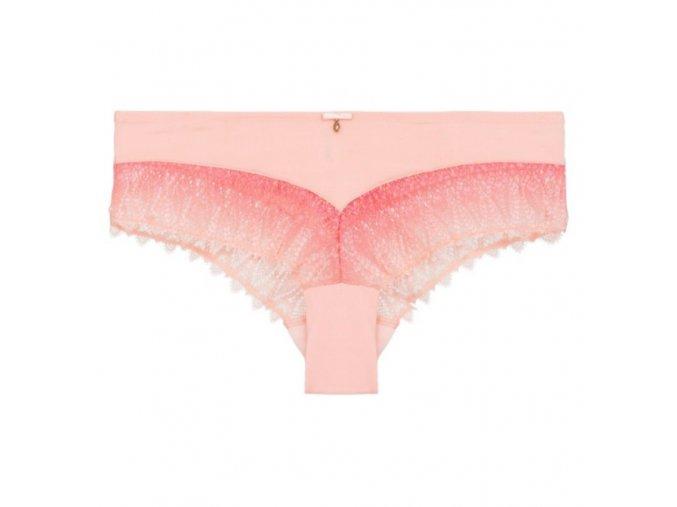 růžové šortkové kraťáskové kalhotky s krajkou Linga Dore chickie.cz