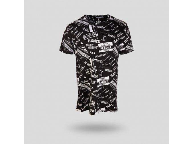 John Frank Monochrome Erkek T Shirt Mult 6917