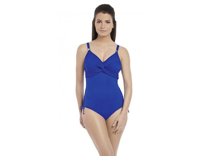 Jednodílné modré plavky Fantasie