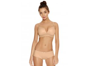 DECO NUDE MOULDED SOFT CUP BRA 4231 SHORT 4236 F