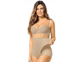 leonisa high waist postpartum panty with adjustable belly wrap 012885 nude
