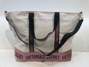 Velká třpytivá taška Weekender Victoria´s Secret