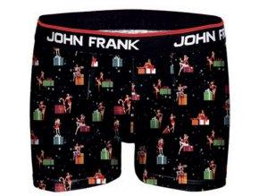 Pánské boxerky s vánočním motivem